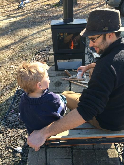 Fireside chat.